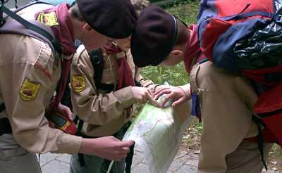 Kaart en kompas blijven belangrijke navigatiemiddelen