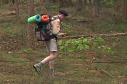 Dwars door het bos op zoek naar de schat