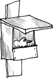 een open kast