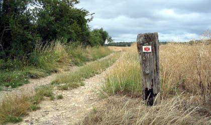 Langs de GR5 in Noord-Frankrijk