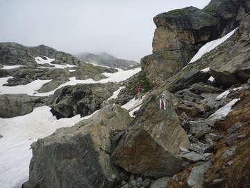Climbing the Bocchetta di Val Maggia 2630m